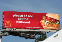 please do not eat billboard